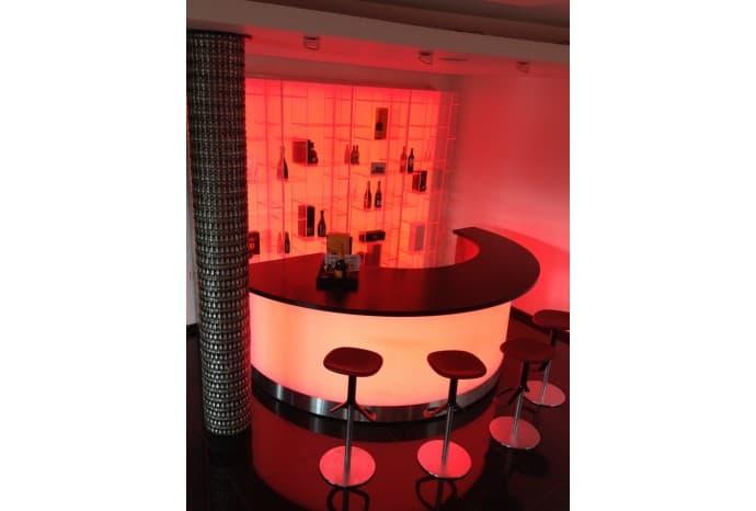 Lounge bar in Kigali, Rwanda