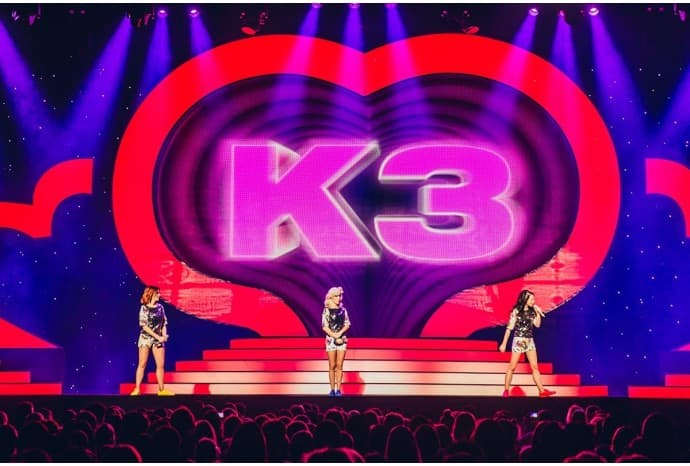 K3 stage tour